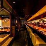 【30名様~42名様まで】くつろぎの店内貸切♪シックな空間で楽しむ中華宴会