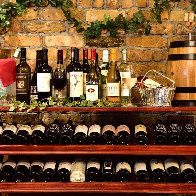 厳選の美味ワインを揃えております