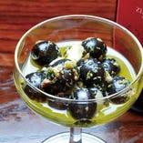 【定番】自家製オリーブマリネ