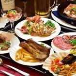宴会スタイルに新しい料理提供方法で対応可能です。