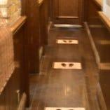 お会計時、お手洗い時の混雑を防ぎます