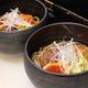 夏場限定   鶴のお一人様冷麺 冷たくてピリ辛