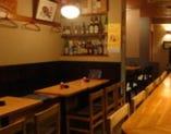 テーブル3席