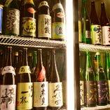 全国から選りすぐりの地酒たち