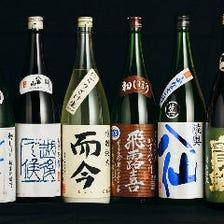 【飲み放題も◎】日本酒・地酒30種〜