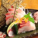 【産直漁港直送】鮮度抜群のお刺身。東北の日本酒と合わせて◎
