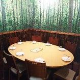 《6名様~8名様向け》テーブル席(円卓)