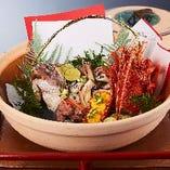 【錦ーにしきー】インターネット予約でご両家のお食事会を華やかにする卓上装花をプレゼント!