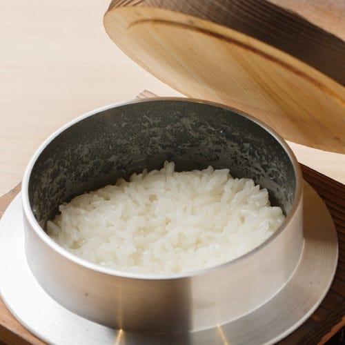 ◆厳選食材(鹿児島の伊佐米を使用)