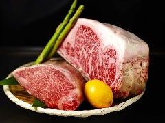 ◇ 国産黒毛和牛ロースステーキ 80g