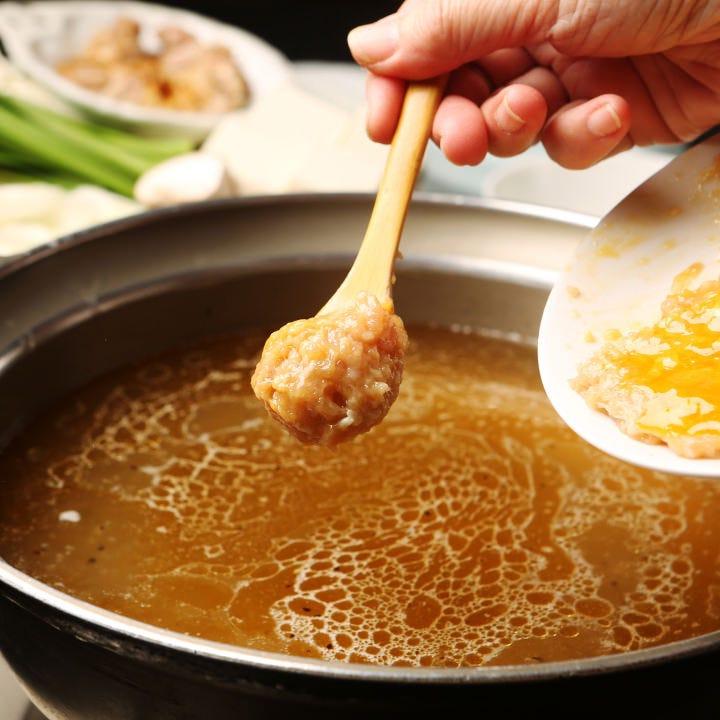 定番のちゃんこ鍋『水晶鍋』