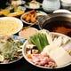 お好きなちゃんこ鍋が選べるコース料理は、ボリューム満点!
