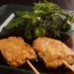 フォアグラの串焼き 和風バルサミコソース (1本)
