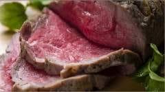 長期氷温熟成 最上級黒毛牛のローストビーフ