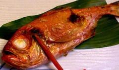 人気商品 金目鯛の姿焼き