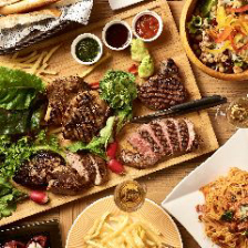 「肉盛りグリルカーニバル」スパークリング含む最大3時間飲み放題付きコース4950円/歓送迎会/肉宴会