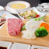 神戸ビーフステーキを楽しむ様々なコースをご用意