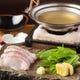 名物季節の出汁鍋  素材の味を存分に味わって頂く拘りの逸品