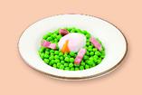 柔らか青豆の温サラダ
