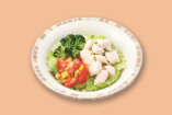 チキンとブロッコリーのサラダ