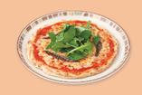 アンチョビとルーコラのピザ