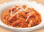パルマ風スパゲッティ(トマト味)