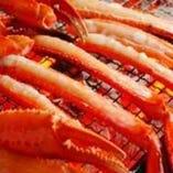 香住漁港から直送した新鮮なカニです