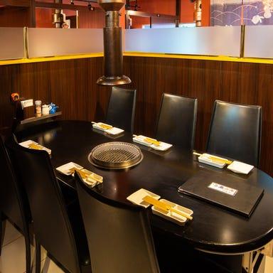 A5ランク和牛焼肉専門店 焼肉明川  店内の画像