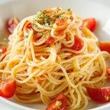 夏季限定メニュー:≪冷≫完熟トマトソースパスタ(サラダ・ドリンク付) Tomato sauce pasta