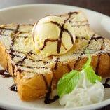 チョコレートトースト Chocolate toast