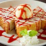 ストロベリートースト Strawberry toast