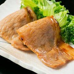 米沢豚ロース味噌漬焼