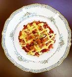 桜えび&マヨネーズ味の桜えび・ピザ
