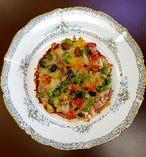 五色豆で健康増進・薬膳ピザ