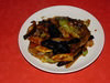 茄子の中国味噌炒め
