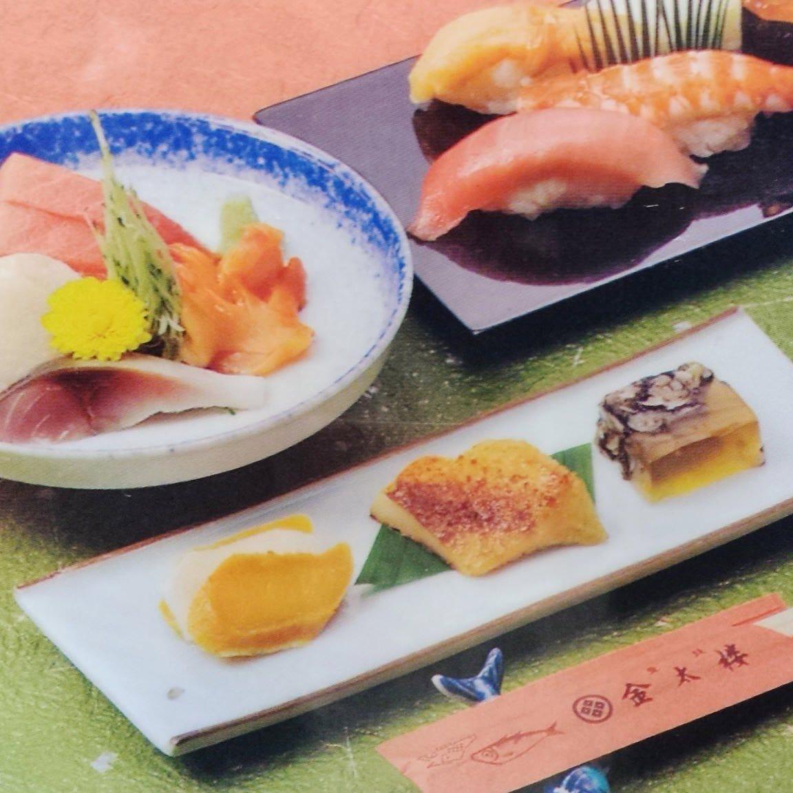 コース料理は4,000円(税抜)~ ご用意しております。
