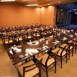 テーブル席半個室(~40名様)