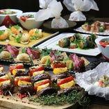 【宴会】旬の食材をふんだんに盛り込んだコースは2,500円~