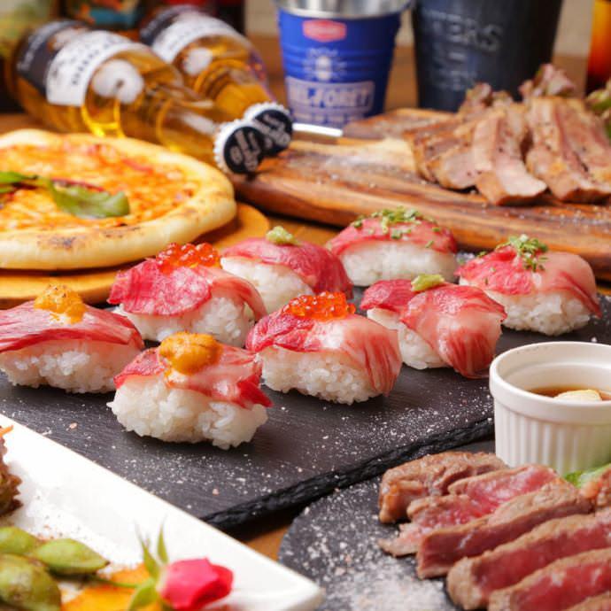 26種類肉寿司食べ放題プラン3000円