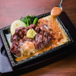 第2のダッカルビ3種類肉チキン豚牛ステーキととろーろチーズ