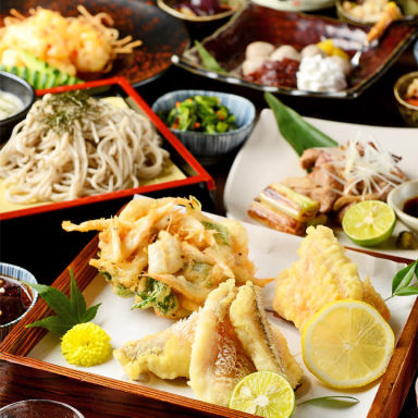天ぷらと蕎麦 名駅 個室居酒屋 そば天 名古屋駅前店  メニューの画像