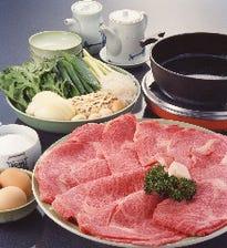 """モリタ屋の看板料理 """"すき焼き"""""""
