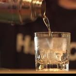 シングルモルトウイスキー60種を初めお酒の品揃えが豊富!