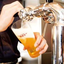 全コース工場直送生ビール飲み放題