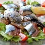 ◆秋刀魚 カルパッチョ