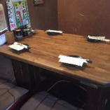 ○4名様:テーブル席×2