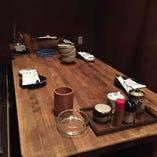 ○8名様:テーブル席×1