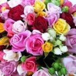 【特典①】花束のお預かり
