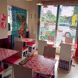 団体のお客様ご予約でも対応可能なテーブル席