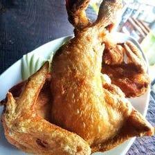 人気◆唯一デンズ銘物半身鶏の唐揚げ